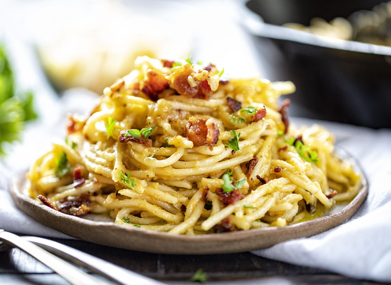 Карбонара шпагетти