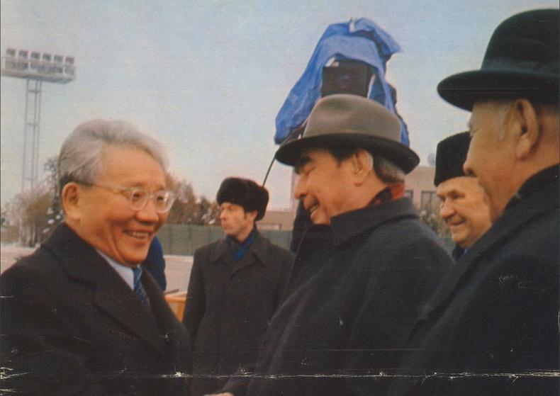 ЗХУ-ын удирдагч Л.Брежневийн Монгол дахь айлчлал, 1974