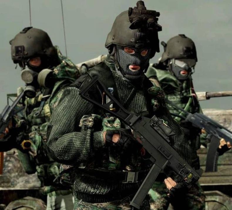 """ОХУ-ын Холбооны аюулгүй байдлын албаны """"А"""" ангиллын цэргүүд"""