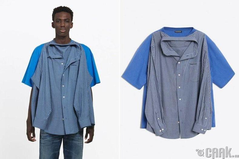 """Мөн л """"Balenciaga""""-ийн цамцтай футболка 1290 долларын үнэтэй"""