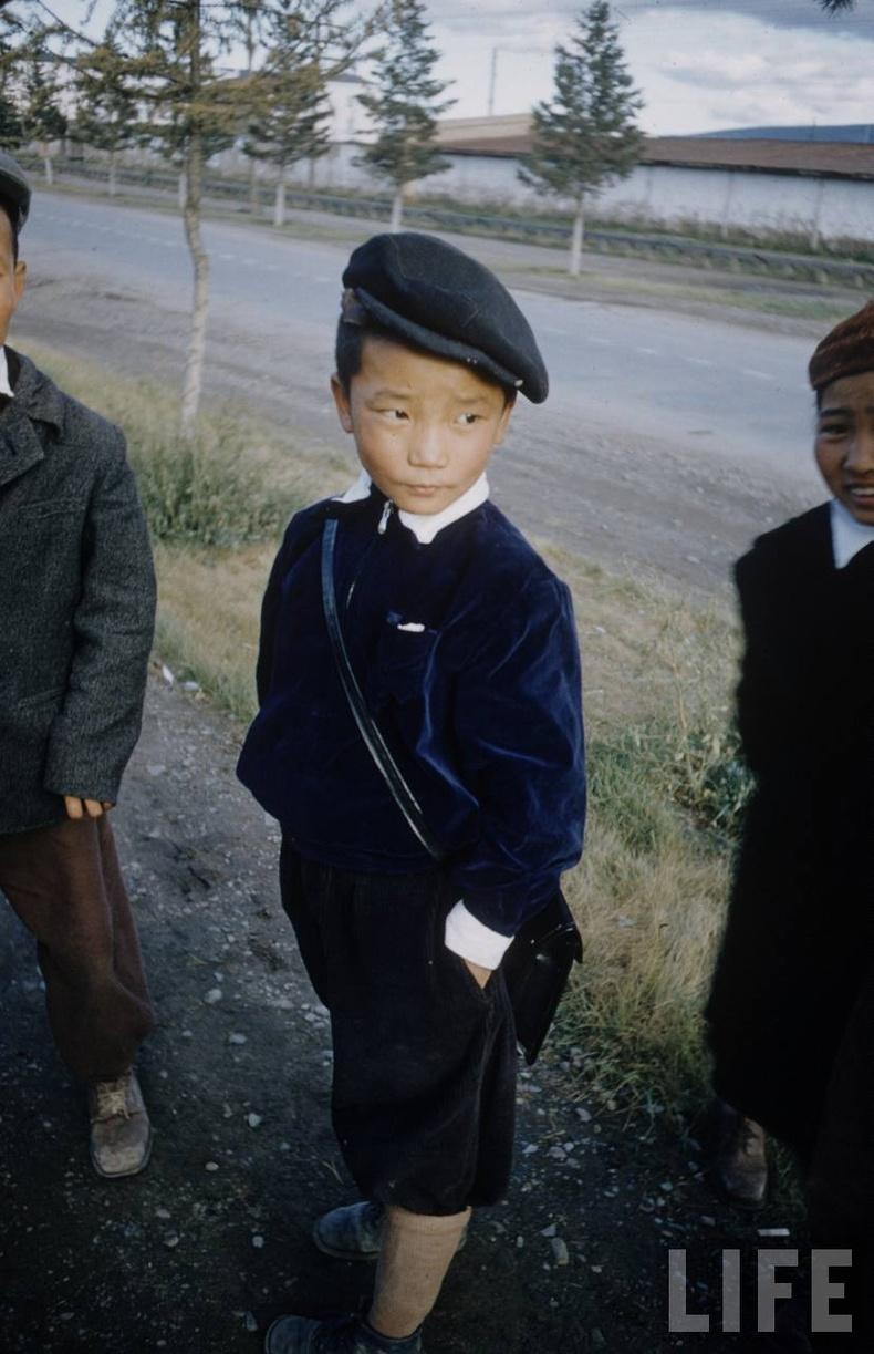Сурагч хүү, 1956 он