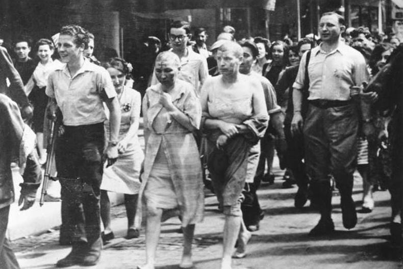 Нийгмийн дээд давхаргын олон төлөөлөл, ялангуяа эмч, хуульч, уран бүтээлч нар нацистуудтай хамтран ажилласан ч шийтгэл амссан нь ховорхон тохиолджээ.