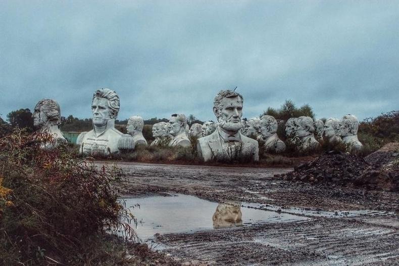 АНУ-ын ерөнхийлөгчдийн хөшөө, Виржиниа