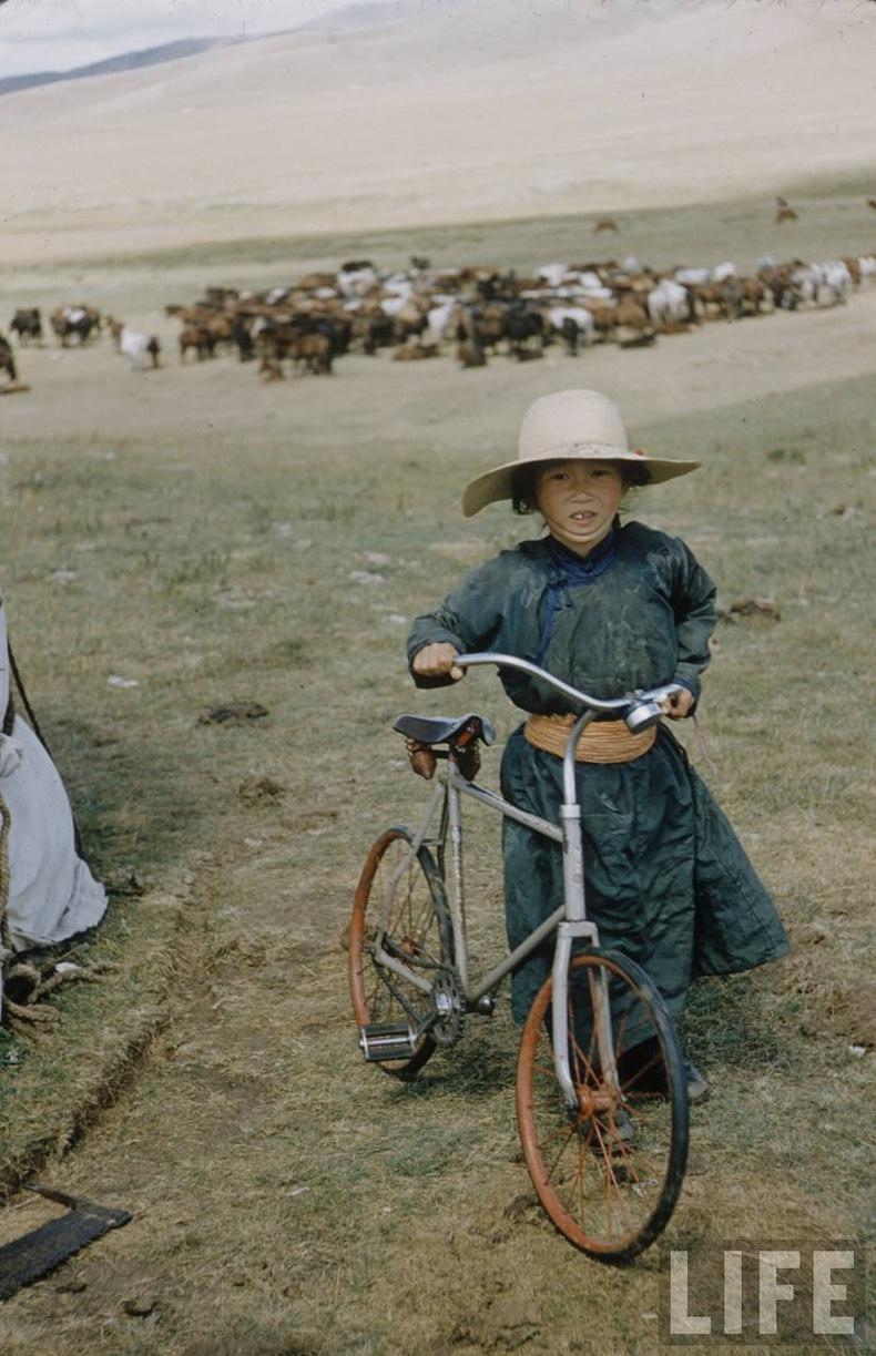 Дугуйтай охин - 1956