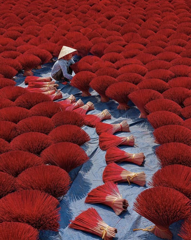 Хүж хатааж буй нь, Вьетнам