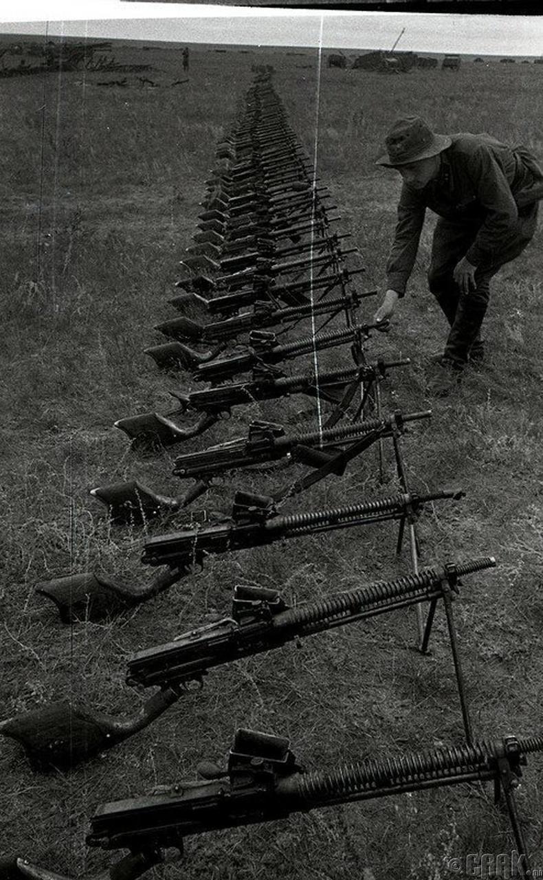 Халх голын дайны үеэр олзолсон япон цэргүүдийн зэвсэг