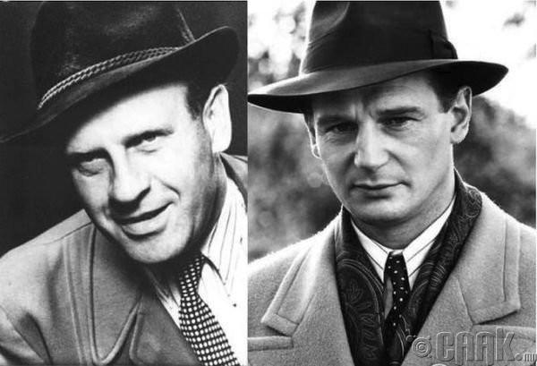 "Оскар Шиндлер (Oskar Schindler)- жүжигчин Лайам Нисон (Liam Neeson) ""Schindler's List"""