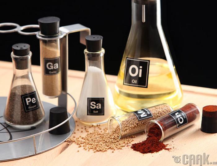 Химийн тэмдэглэгээ бүхий амтлагчны сав