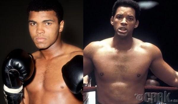"""Мохаммед Али (Mohammed Ali)- жүжигчин Вилл Смит (Will Smith) """"Ali"""""""