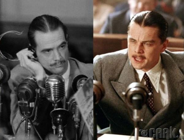 "Говард Хьюз (Howard Hughes)- жүжигчин Леонардо ди Каприо (Leonardo DiCaprio) ""The Aviator"""