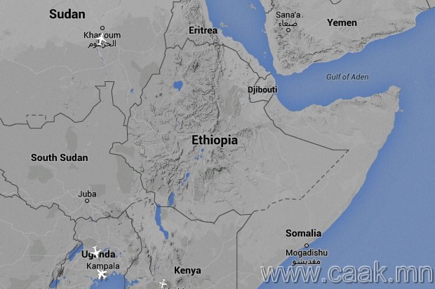 Эфиопиин хойд зүг
