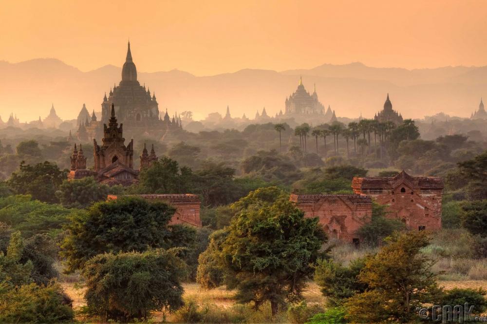 Баган, Мьянмар улс