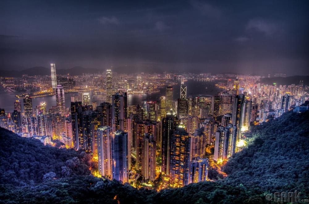 Викториа оргил, Хонг Конг