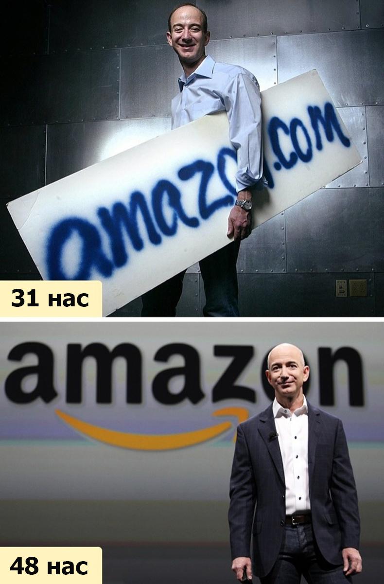 Жефф Безос (Jeffrey Preston Bezos) - 120 тэрбум $