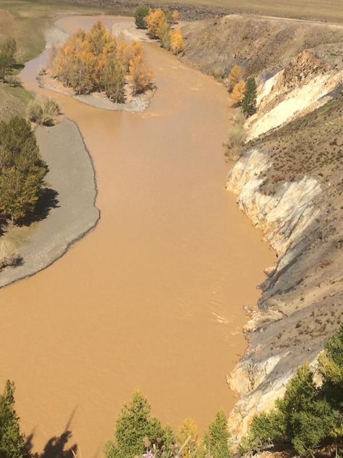 Дөрөв. Орхон голын өнөөгийн бохирдол, экологийн сүйрэл