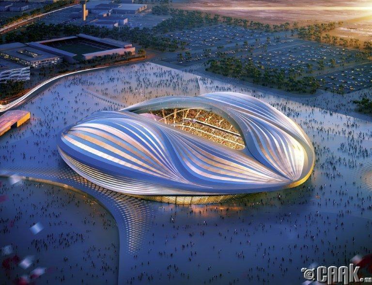 Катар, 2022 оны Хөл бөмбөгийн тэмцээний стадион