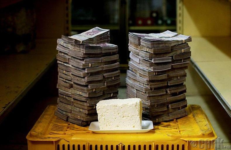 Нэг кг бяслаг - 7.5 сая боливар буюу 1.14 ам.доллар