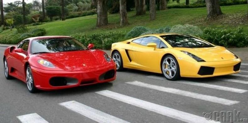 «Ferrari» таалагдаагүй учир  «Lamborghini»  гаргасан нь