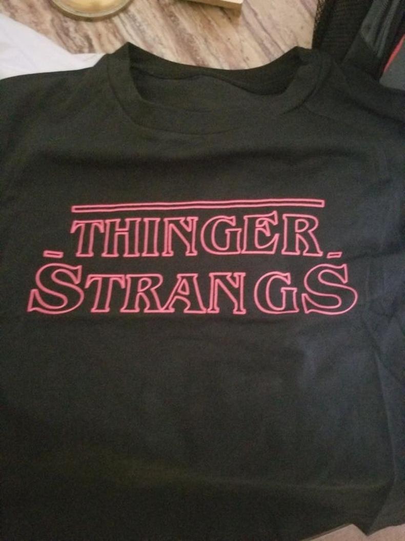 Stranger Things гэж уншаад байгаарай!