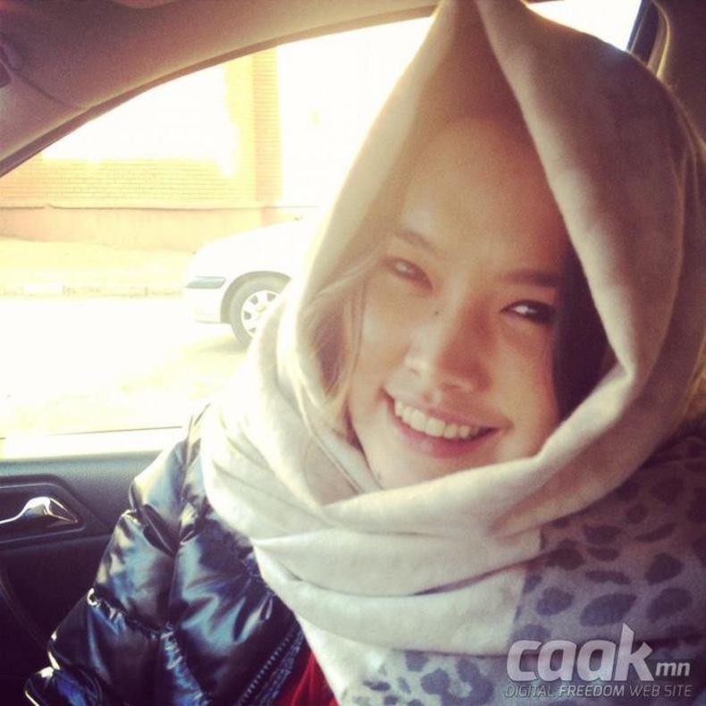 Монголын үзэсгэлэнт охид (95 фото) №126