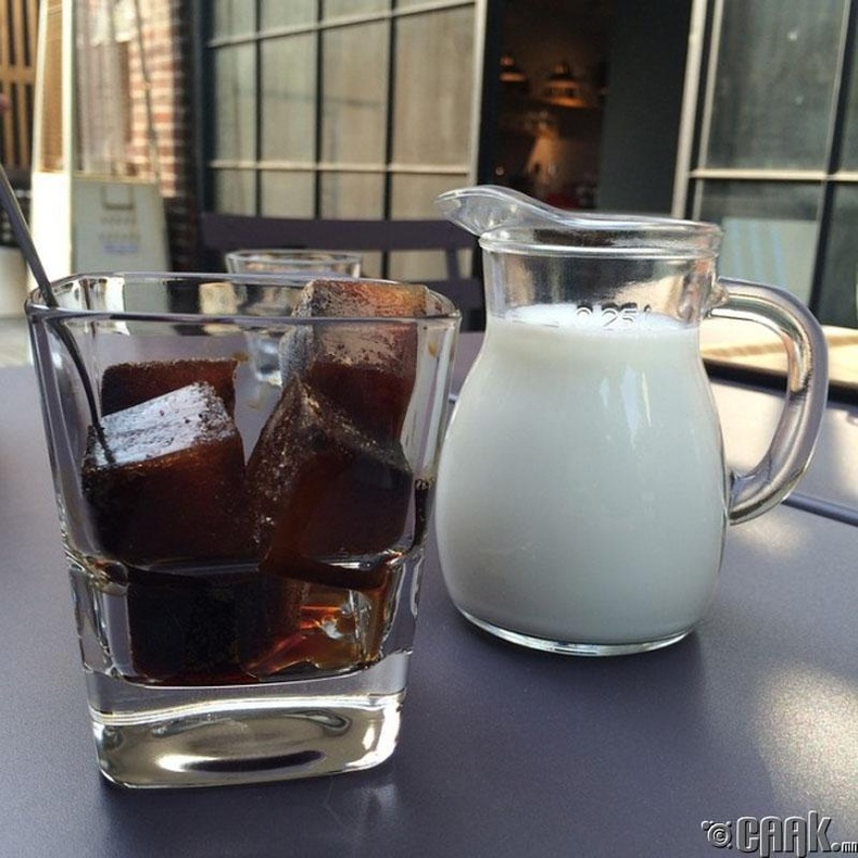 Бонус: Мөстэй, хүйтэн кофе хийх арга: