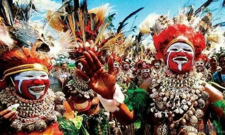 Папуа Шинэ Гвиней нь дэлхийн хамгийн олон хэлтэй улс