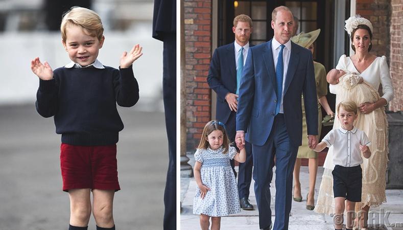 Эрэгтэй хүүхдүүд зөвхөн богино өмд өмсдөг