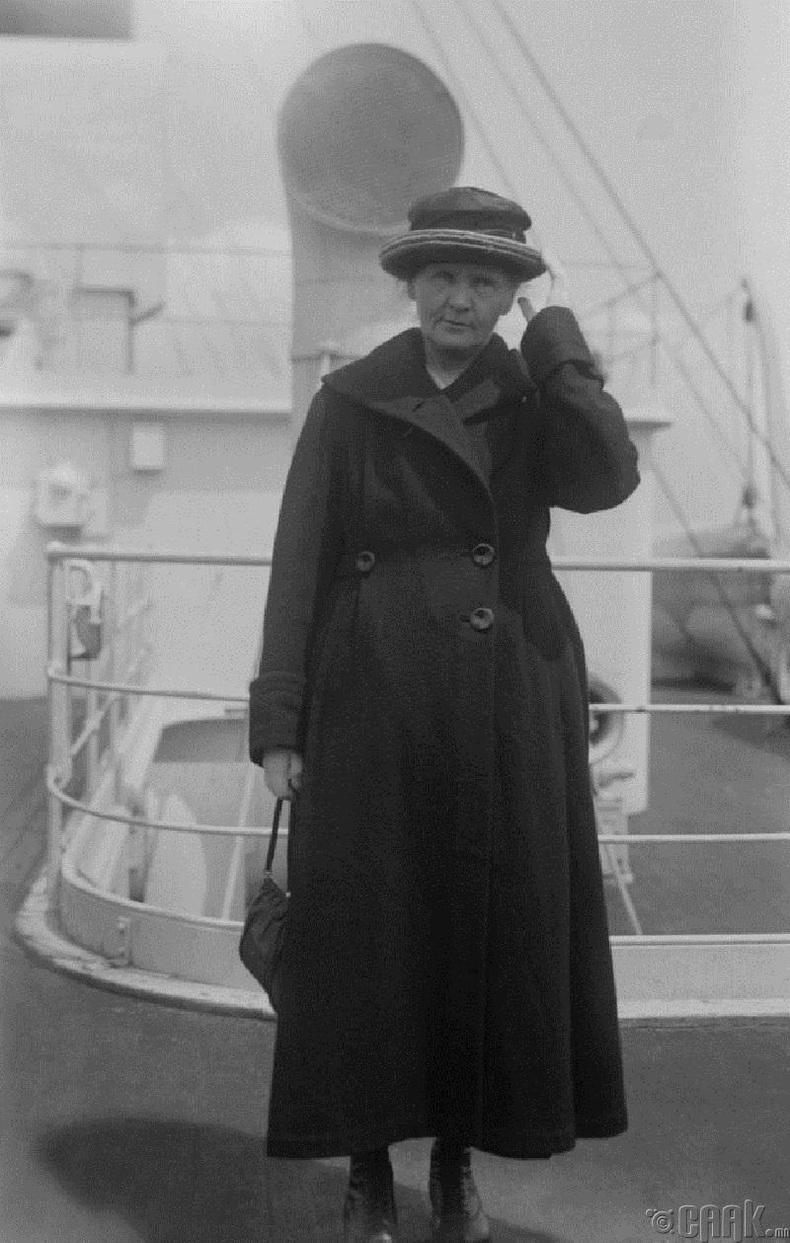 Мари Кюри - Алдартай физикч