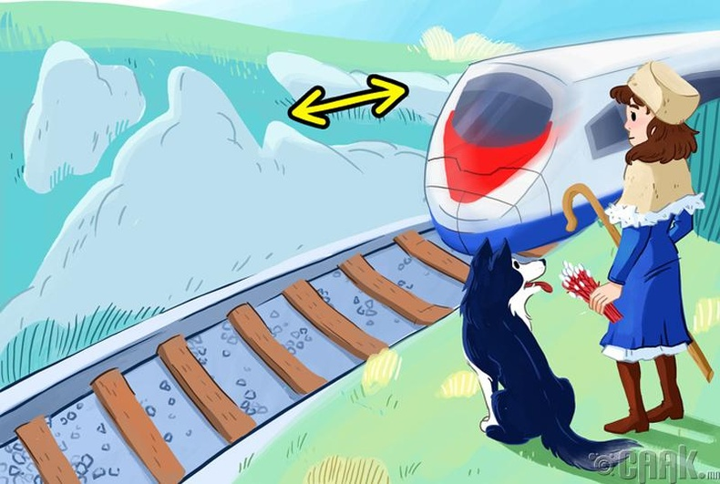 Галт тэрэг хаашаа явж байна?