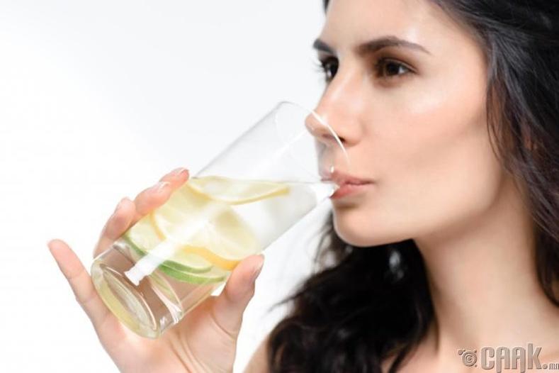 Нимбэгтэй ус