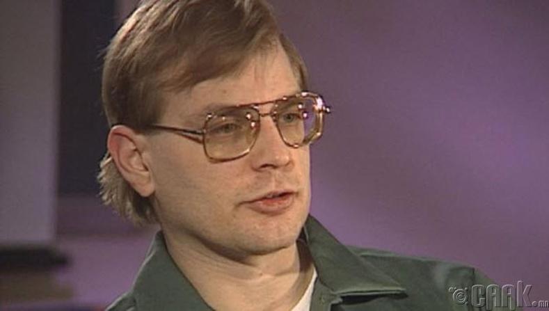 Хүн идэштэн Жеффри Дамер (Jeffrey Dahmer)