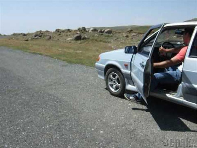 Армен улсын Арагац уулын зам
