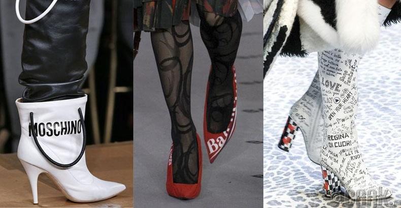 Бичигтэй, өвөрмөц гутал