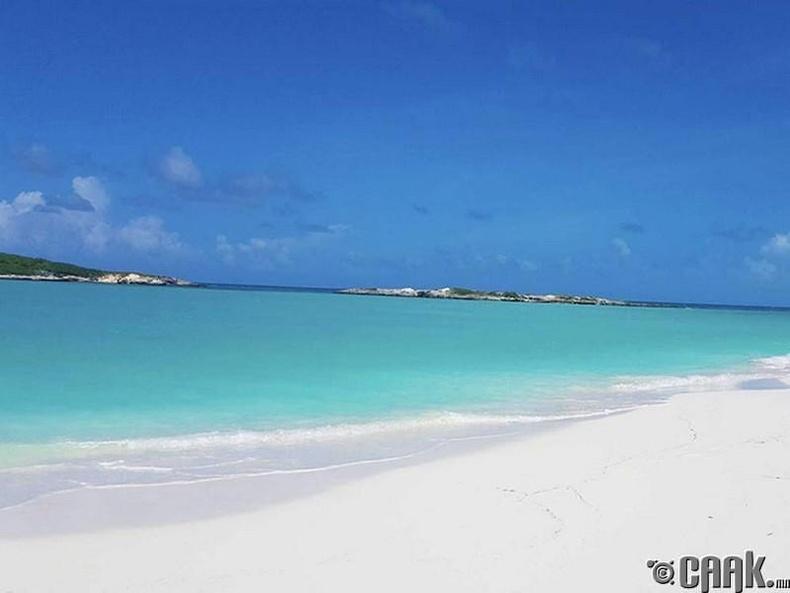 Tropic of Cancer далайн эрэг, Эксума, Багамын арал