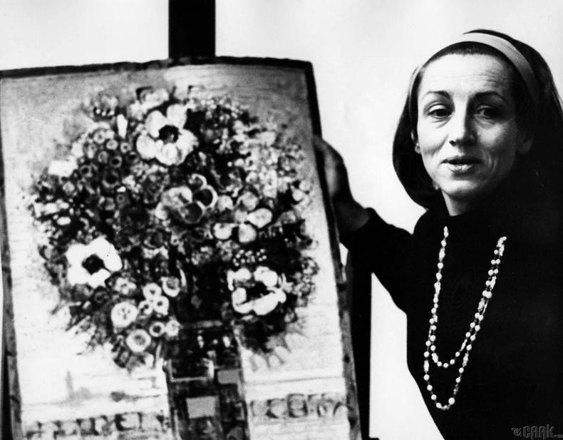 Франчойс Гилот (Françoise Gilot)- Пабло Пикассогийн урлагийн охин тэнгэр