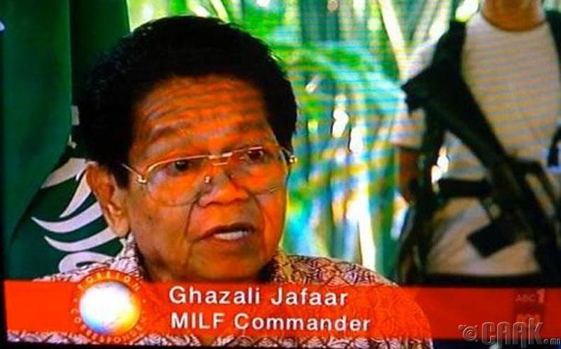 Газали Жафаар, Исламын салан тусгаарлагчдын удирдагч