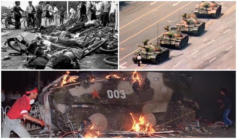 Тяньаньмэний талбайд болсон  цуст хядлагын тухай аймшигт 10 баримт