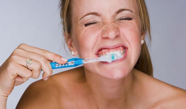 Шүд угаах үед