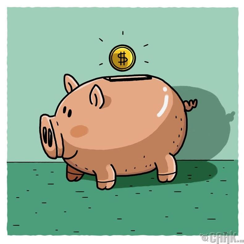 Мөнгө цуглуулагчийг яагаад гахай хэлбэртэй хийдэг вэ?