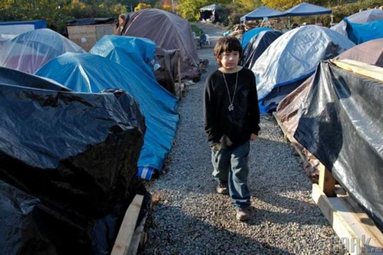 Сиэтлийн майхантай ядуус, Вашингтон муж