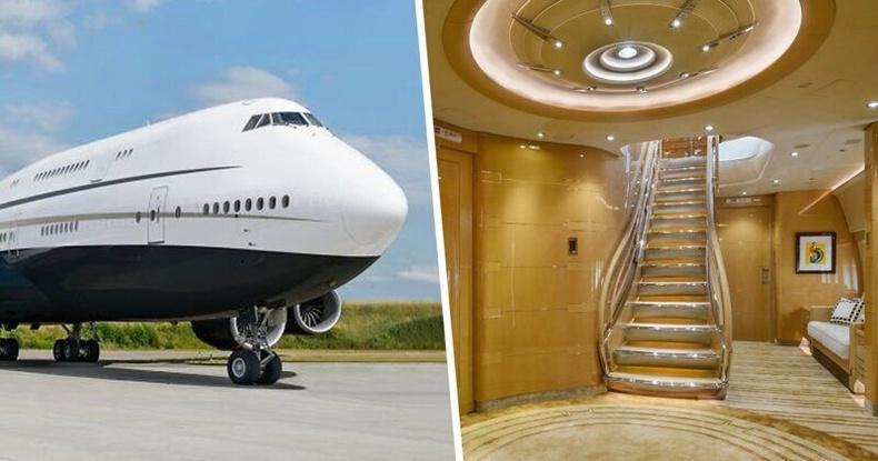 """""""Нисдэг харш"""" - Дэлхийн хамгийн том хувийн онгоц дотор юу байдаг вэ?"""