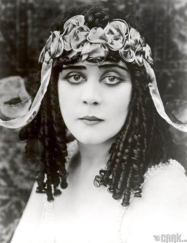 Теда Бара (Theda Bara) - Cleopatra (1917)