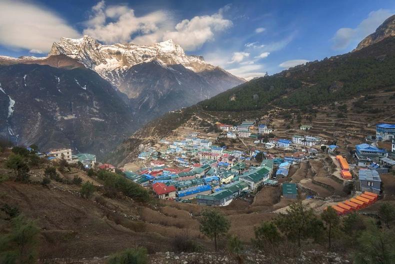 Намчэ Базар, Балба