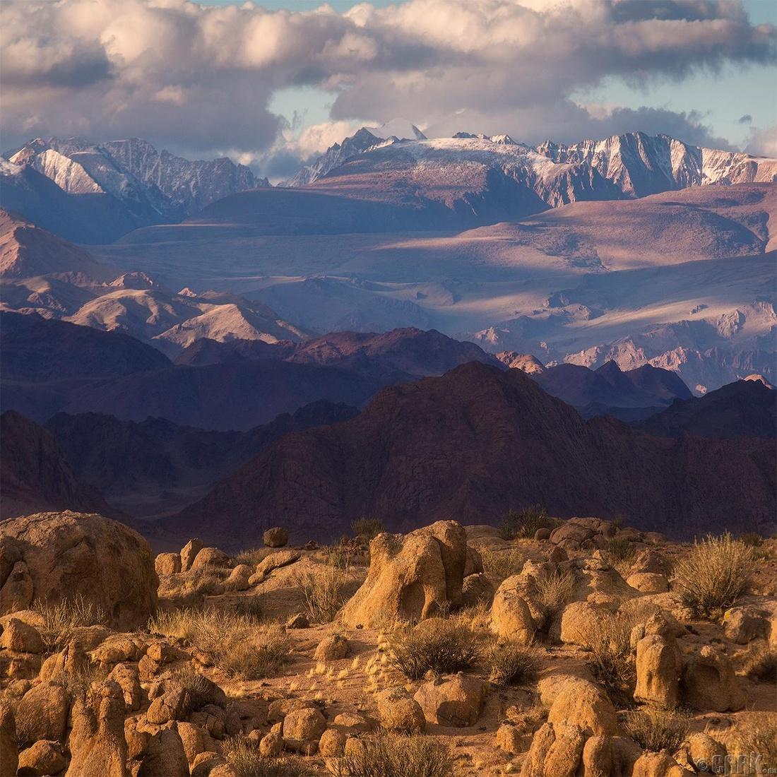Хархираан уулс