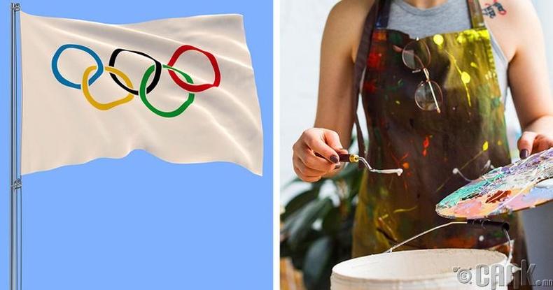 Олимпын медаль болон урлаг