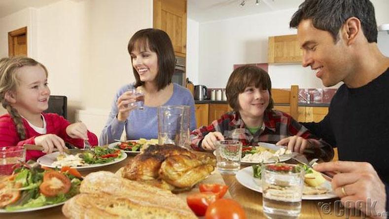 Хооллож байхдаа халбага сэрээгээ амандаа ойрхон байлгаарай