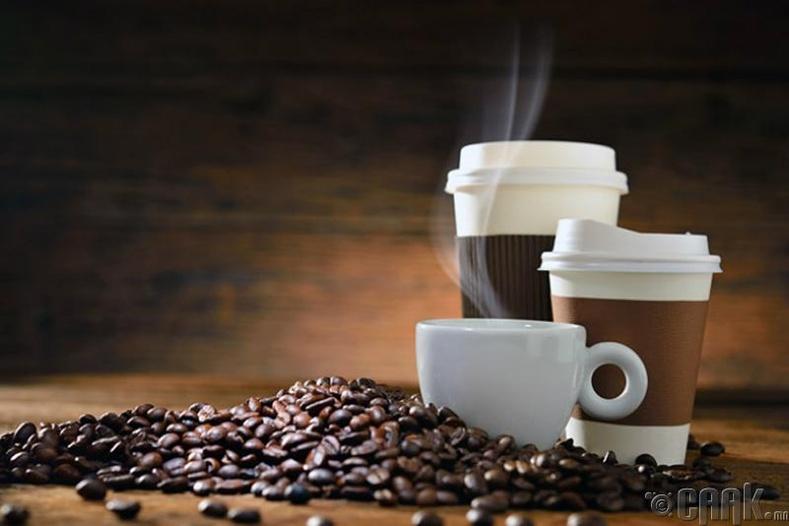 Кофе, цай