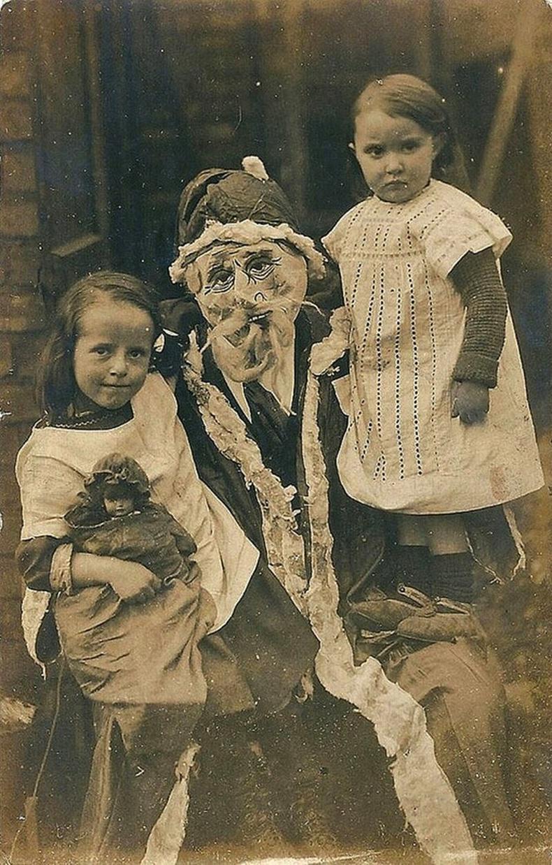 1900-аад оны эхэн үеийн Санта Клаусын өмсгөл