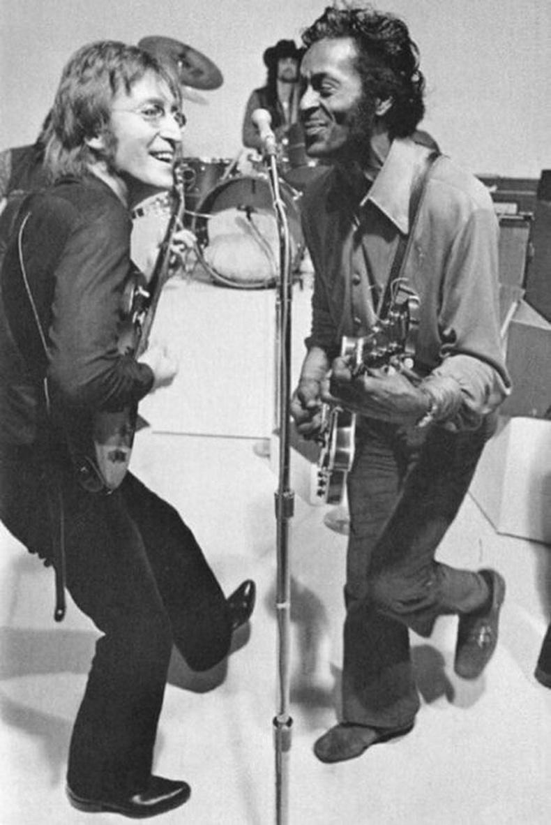 Жон Леннон болон Чак Берри нар, 1972 он