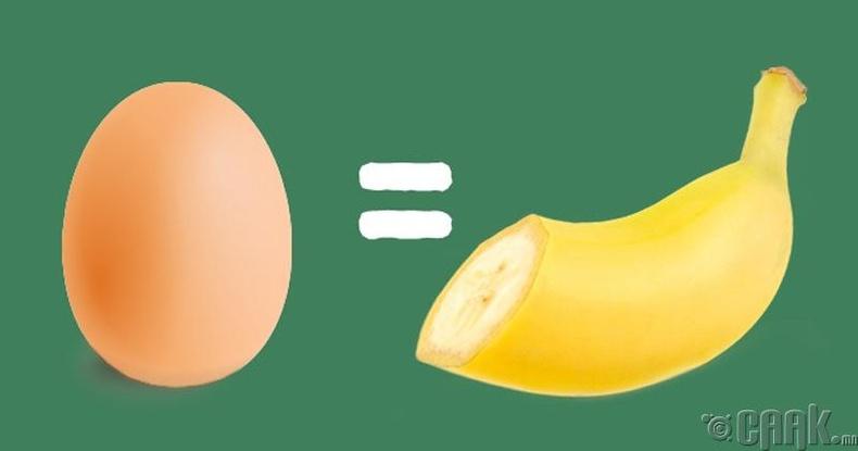 Өндөггүйгээр жигнэмэг хийх